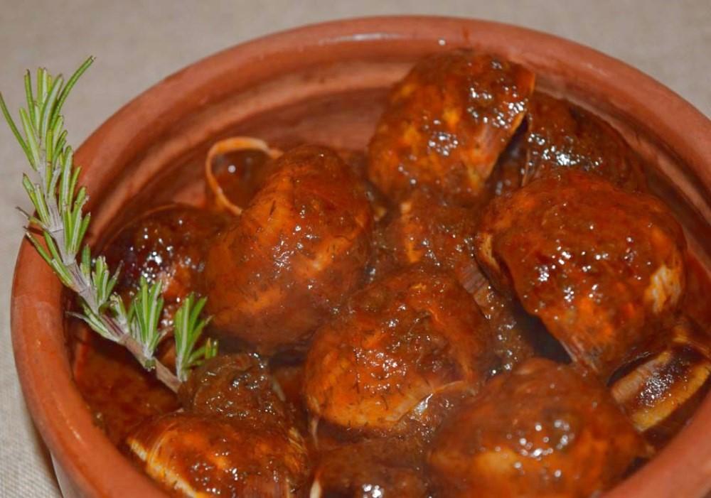 LUMACHE ALLA PIEVESE Le ricette della Taverna del Perugino