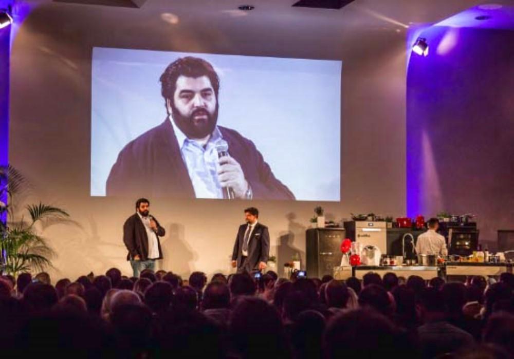 Talk Show con Antonino Cannavacciuolo 9 novembre 2015 Milano