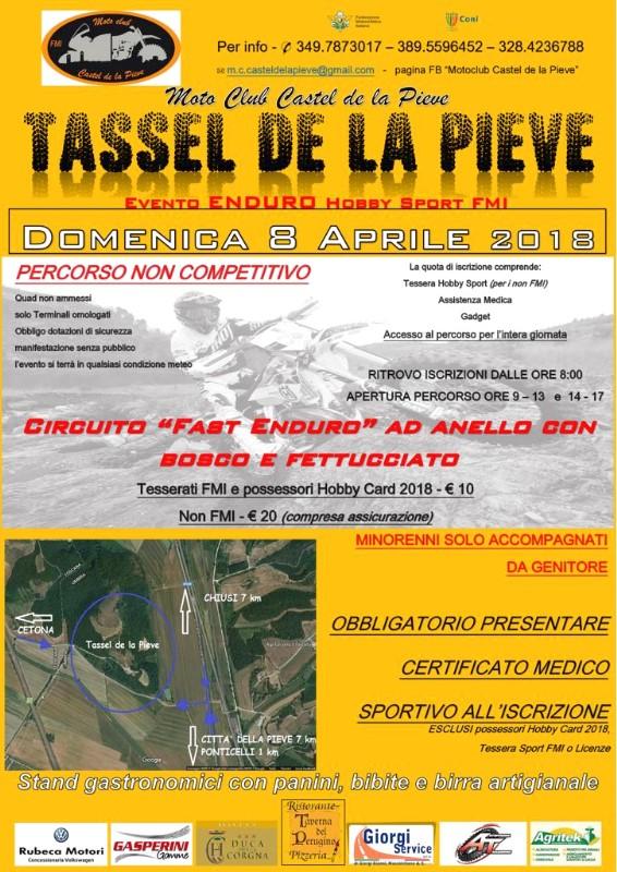 Tassel de la Pieve 8 aprile 2018