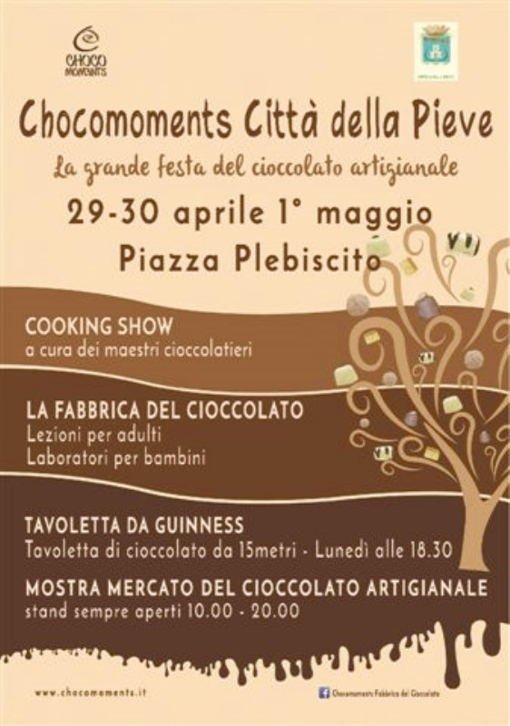 CHOCOMOMENTS La grande festa del cioccolato artigianale