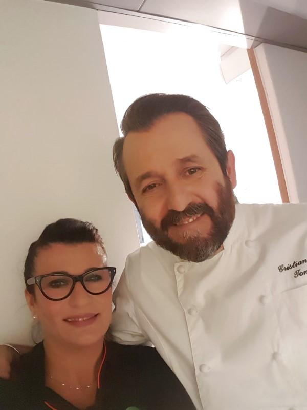 Cristina a Cuochi d'Italia dicembre 2018