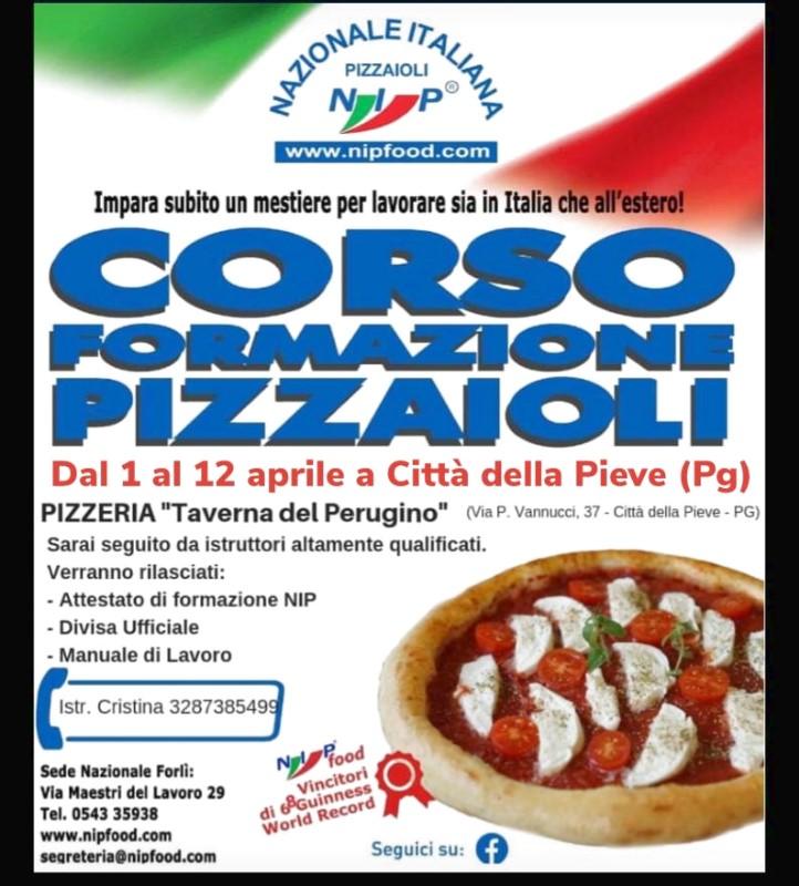 Corso Formazione Pizzaioli dal 1° Aprile a Città della Pieve