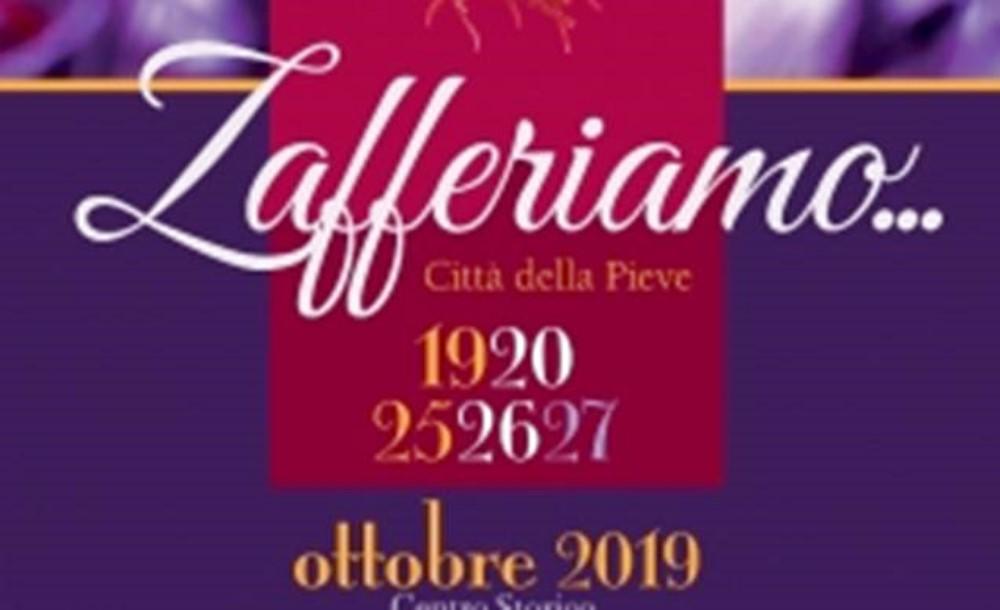 Zafferiamo 2019 19 - 20 - 25 - 26 - 27 ottobre