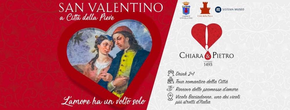 Chiara e Pietro 1493 San Valentino a Città della Pieve