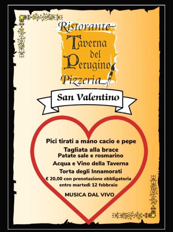San Valentino 2019 CENA ROMANTICA ALLA TAVERNA